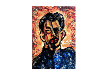 Leonid Lamm Self-Portrait